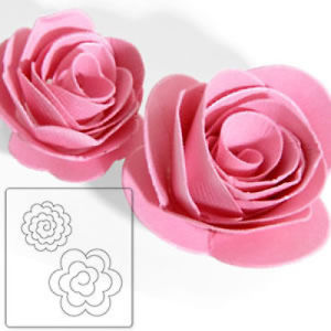 Bigz Flowers 3D, Sizzix para Big Shot Pro