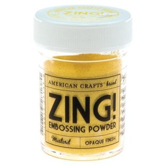 Embossing Powder Mustard, Zing