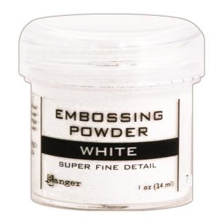 Polvos para Embossing, White, Ranger