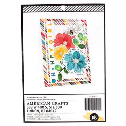 Paper Pad Wildflower & Honey, American Crafts