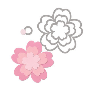 Matriz Sizzix Framelits – Flores