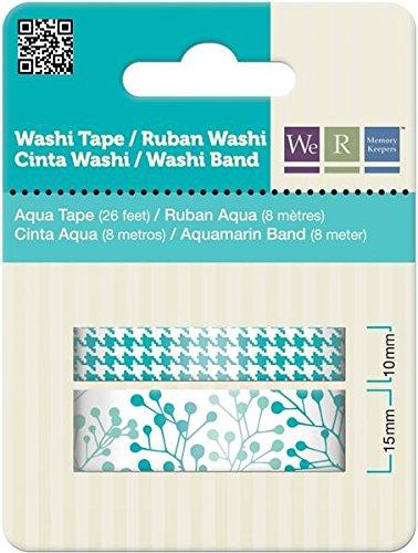 Washi Tape We R Memories Aqua