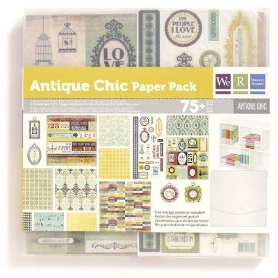 Antique Chic Paper Pad, We R Memories