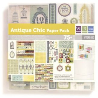 Antique Chic Paper Pad, We R Memories