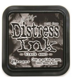Tinta Distress, Black Soot, Ranger Tim Holtz