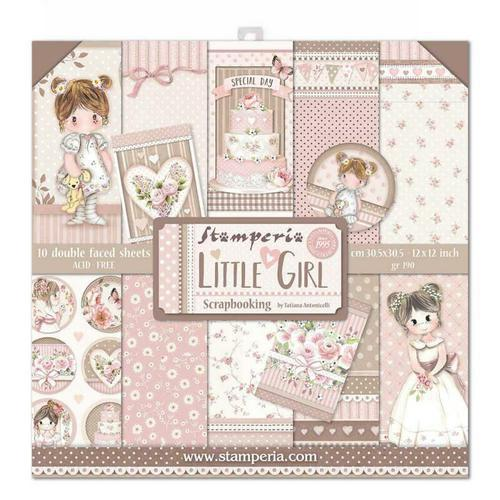 Pack Paper Collection Little Girl, Stamperia