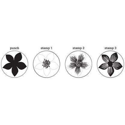 Martha Stewart, Stamp & Punch Hydrangeas