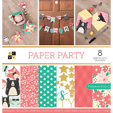 Stack Papel Estampado Party, DCWV
