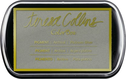 Ink Pad Teresa Collins Platinum Silver