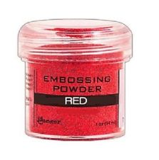 Polvos para Embossing, Red, 34 gr.