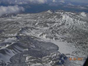 Puyehue-El Caulle en erupción