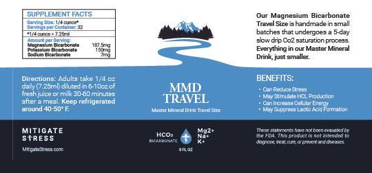 MMD Travel Label 8oz