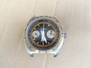Longines diver chrongraph with debt meter