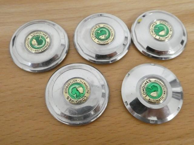 Longines conquest case back enamel repair