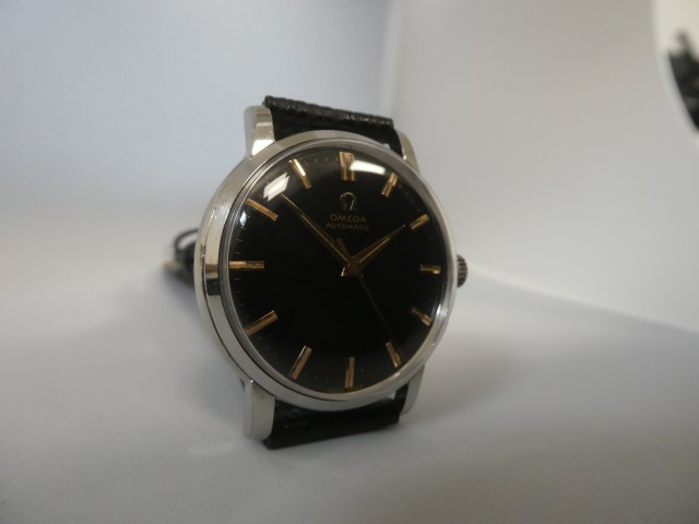 Omega black dial