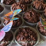 Cupcakes mit Canachetopping