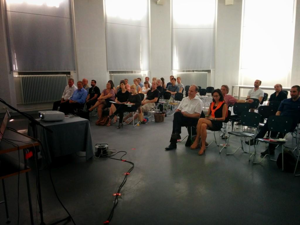 50 Besucher lauschten den Vorträgen