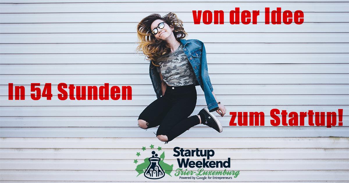 Startupweekend Trier Luxemburg