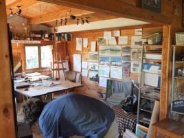 Büro, Künstlerhaus