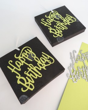 Stampin' Up Berlin Schokoladenziehverpackung DIY Geldgeschenk Thinlits Happy Birthday Limette 3 mitliebeundpapier.wordpress.com