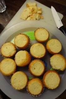 """Alle Muffins sind """"platt"""". :)"""