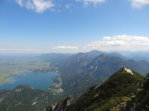 Blick vom Gipfel.