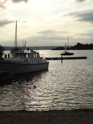 Boote auf dem Ammersee.