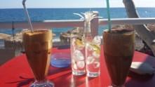 Café in Mirtos.