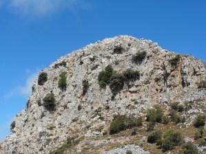Gipfel des Karfi.
