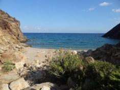 Unsere kleine einsame Bucht. :)