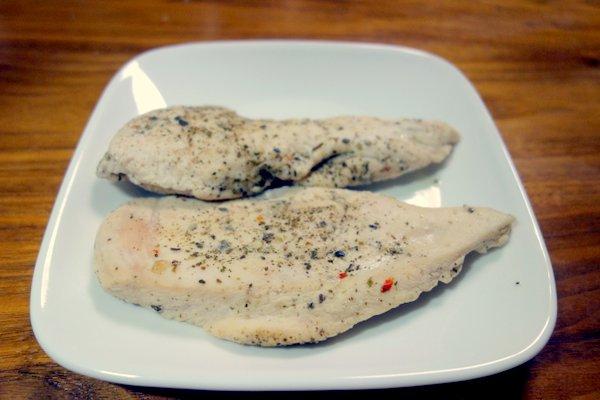胸 肉 サラダ チキン レンジ