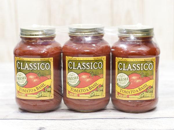 コストコのパスタソース『クラシコ トマト&バジル』のおすすめ度は ...