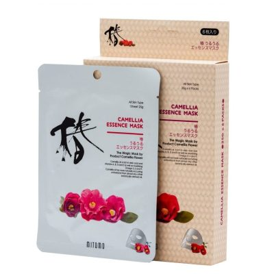 Bamboo Camelia face sheet mask Mitomo
