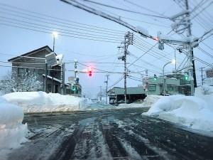 寒い朝ですが晴れています!