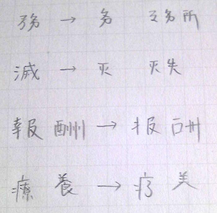 略字その4