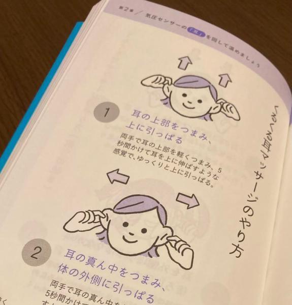 天気痛を改善、くるくる耳マッサージ、雨ダルさんの本