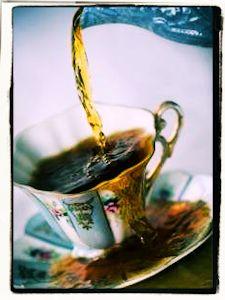 La taza de té