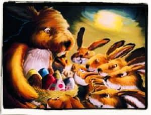 Érase una liebre de Pascua