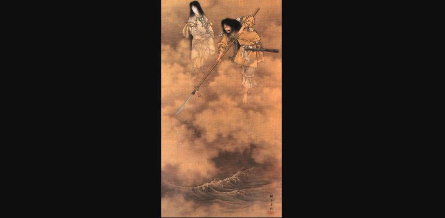 La creación según la mitología japonesa