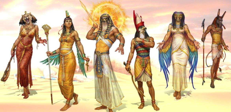 Coronas egipcias