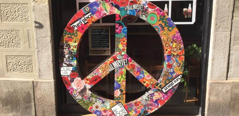 Símbolo de amor y paz