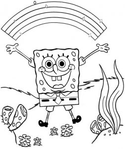 12 Cute Spongebob Coloring Pages For Children Mitraland