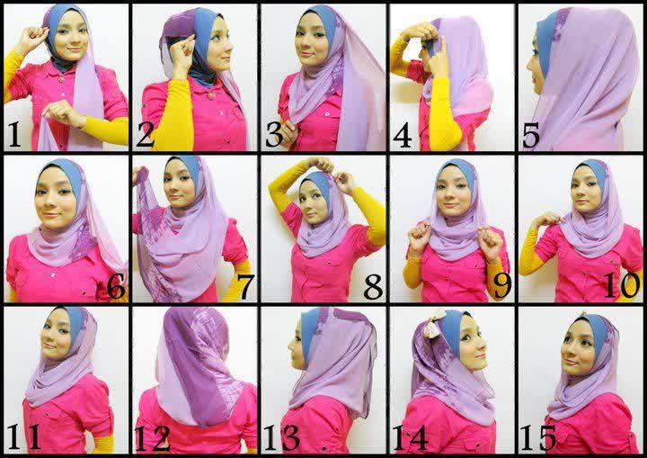 Tips Membuat Model Jilbab Pesta