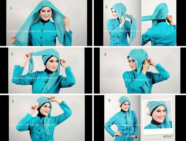 Cara Memakai Jilbab dengan Berbagai Model