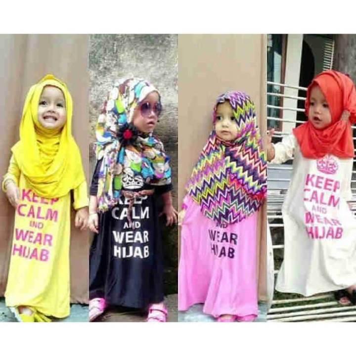 Memilih Model Jilbab Anak Dengan Benar