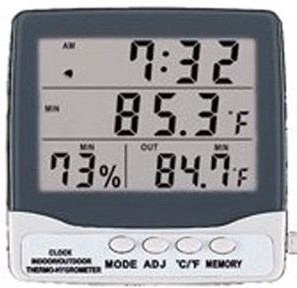 ThermoHygrometer suhu dan kelembaban ayam broiler