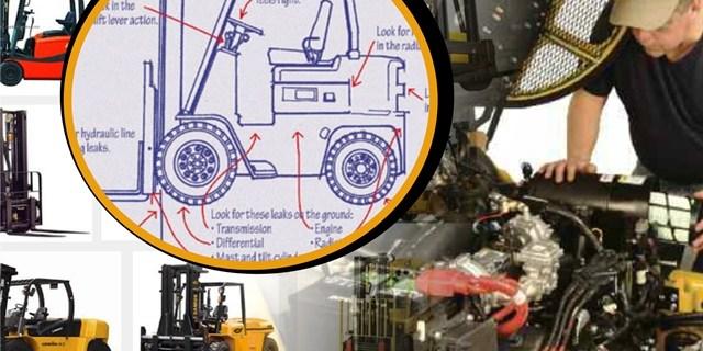 Cara Memperbaiki Kendala Umum Forklift