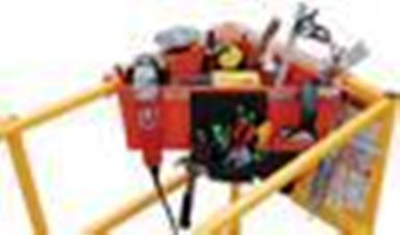 Aerial Work Platforms - Aerial Tool Bin_ATB_WT2