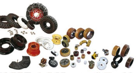 Products Forklift Sparepart Katalog Lengkap - Tyres, wheels and castors