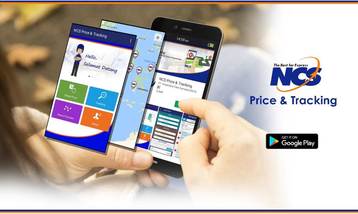 Aplikasi NCS Cek Tarif Ongkir Dan Resi Kirim Barang